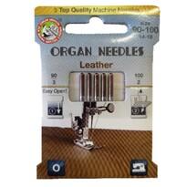 Ihly Organ Needles Leather 90-100