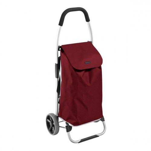 Tescoma Nákupná taška na kolieskach SHOP!, červená