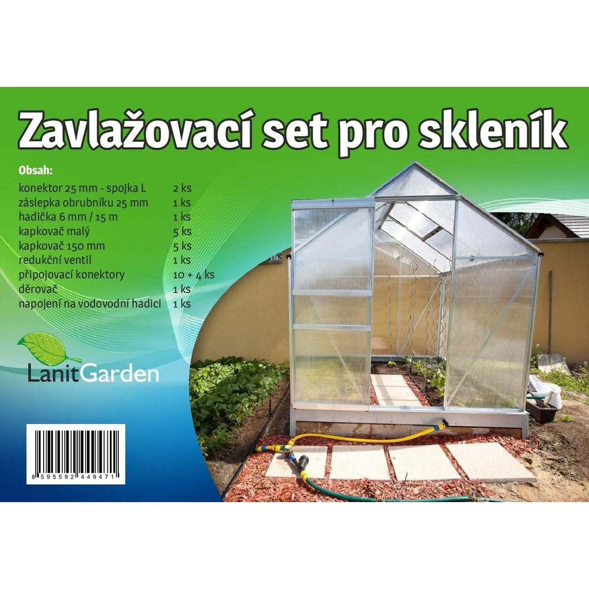 Zavlažovací sada do skleníku Lanit Plast
