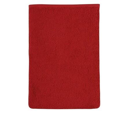 Froté žínka, červená, 17 x 25 cm