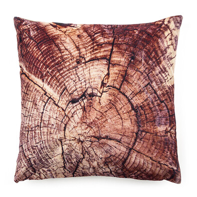 Povlak na polštářek Wood, 45 x 45 cm