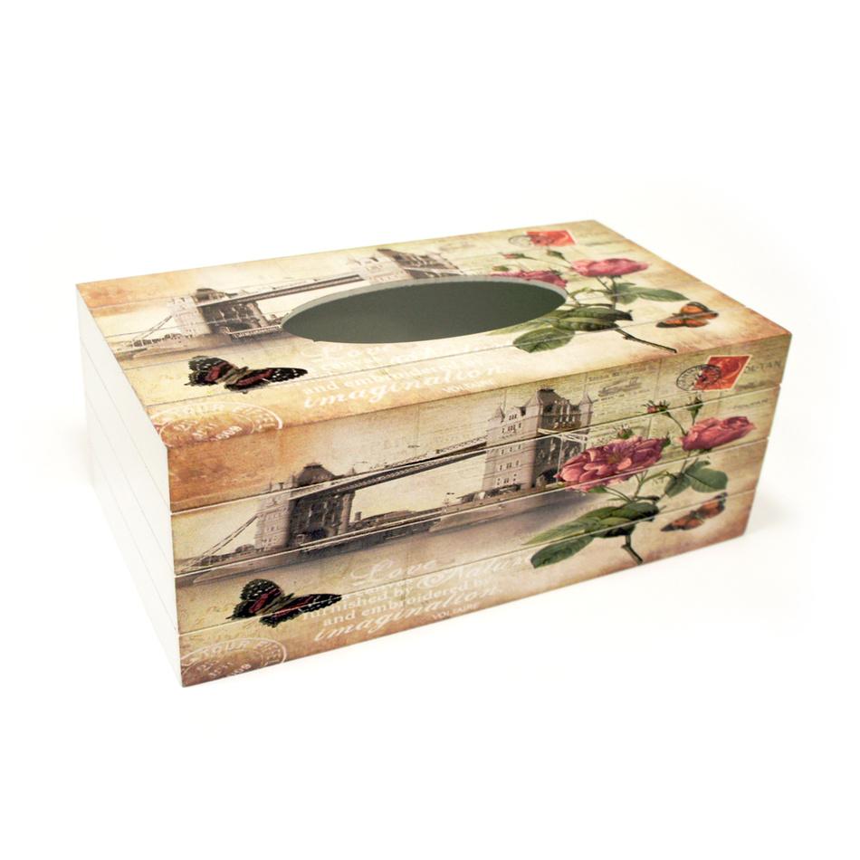 Autronic Krabička na kapesníky KP8727 London Bridge