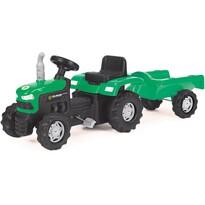 Buddy Toys BPT 1013 Šliapací traktor s vozíkom Fieldmann, zelená