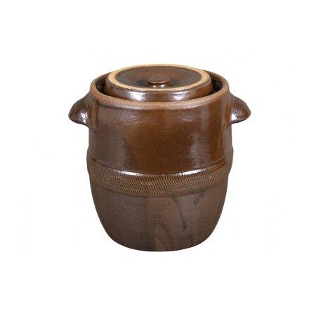 Keramický hrnec zelák Fatra, 5 l