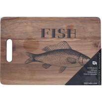 Krájecí prkénko na rybu, 36 x 24 x 1,5 cm