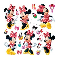 Decorațiune autocolantă Minnie Mouse, 30 x 30 cm