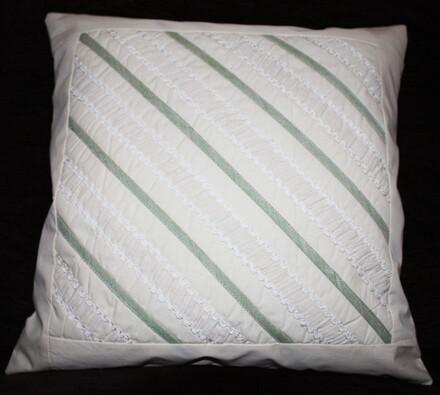 Bavlněný povlak na polštářek Proužky, 40 x 40 cm