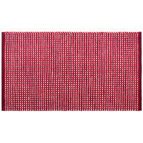Dywan bawełniany Elsa czerwony, 60 x 110 cm