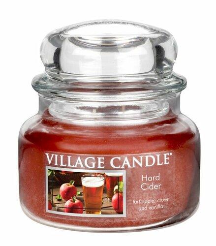 Village Candle Vonná svíčka ve skle, Jablečný cider - Hard cider, 269 g, 269 g