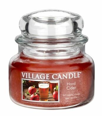 Village Candle Vonná svíčka Jablečný cider - Hard cider, 269 g