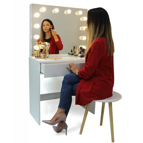 Toaletka z lustrem Gabina, 140 x 40 x 80 cm