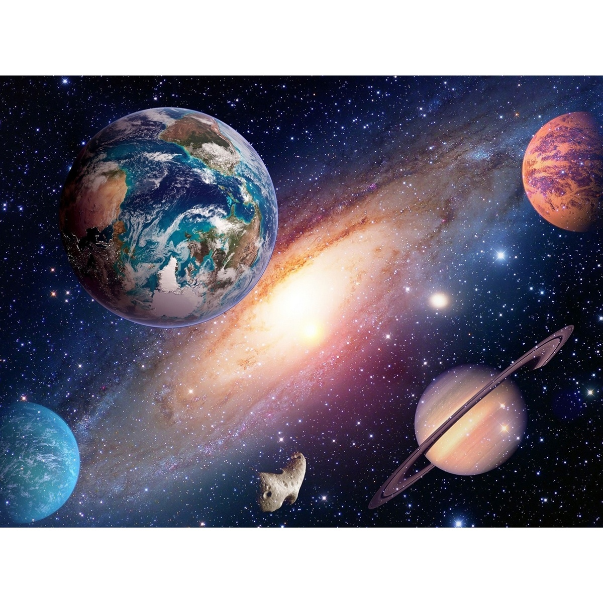Fototapeta XXL Universe 360 x 270 cm, 4 diely