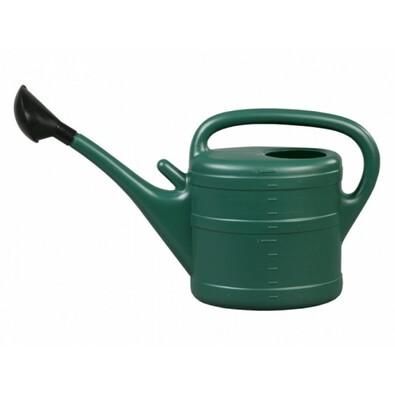 Konev 10l plastová tmavě zelená