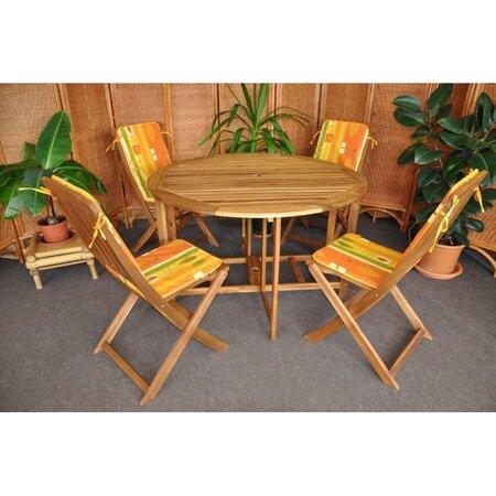 Záhradný nábytok žltá
