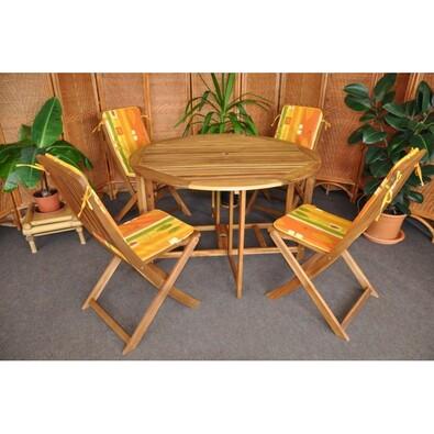Záhradní nábytek žlutá