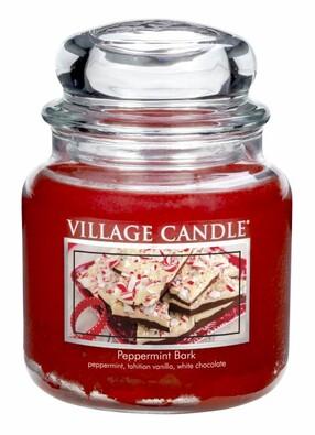 Village Candle Vonná svíčka Mátové potěšení - Peppermint bark, 397 g