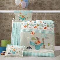 Dziecięca pościel bawełniana do łóżeczka Flyinn, 100 x 135 cm, 40 x 60 cm