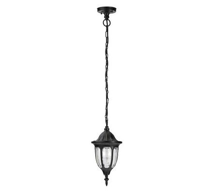 Venkovní závěsné svítidlo Rabalux Milano černá 834, černá, 40 x 16,5 x 100 cm