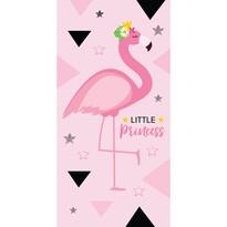 Ręcznik kąpielowy Flaming Little Princess, 70 x 140 cm