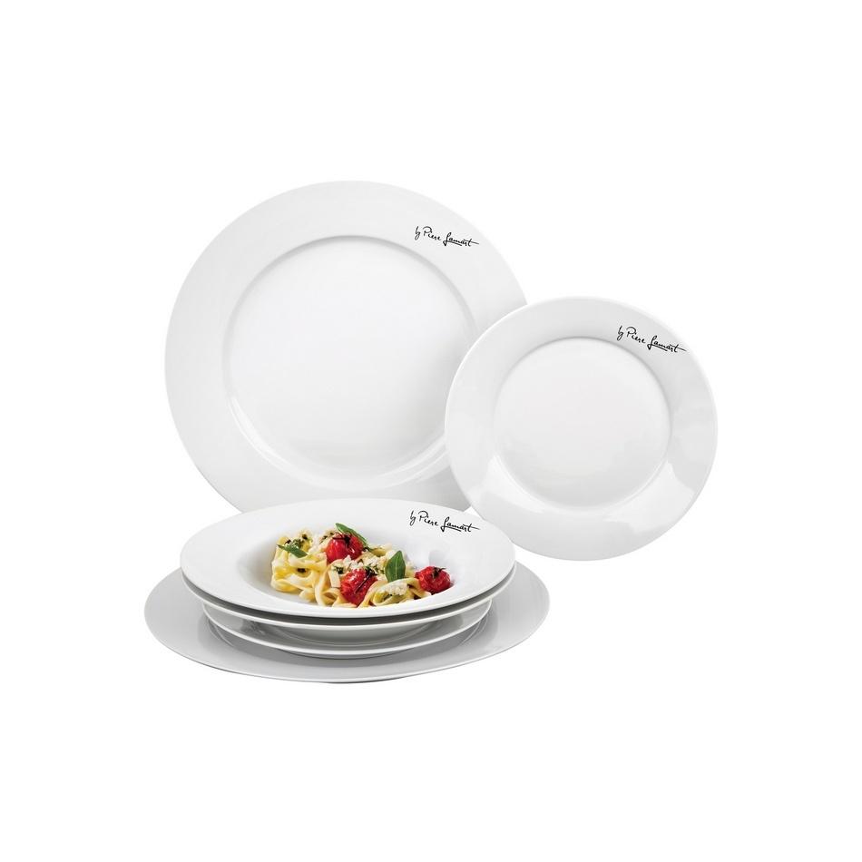 Lamart LT9001 6-dielna jedálenská súprava tanierov Dine
