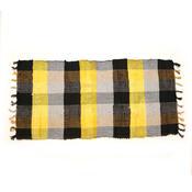 Tkaný koberec žlutá, 70 x 140 cm