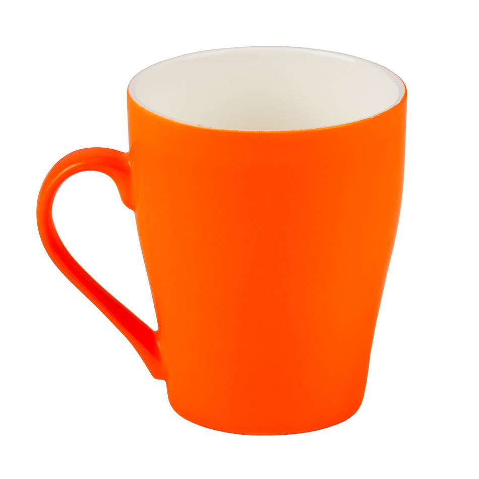 Florina neonově hrnek 300 ml, oranžová