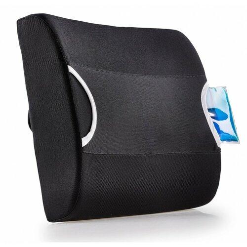 Modom Bedrová opierka s termoobkladom, čierna