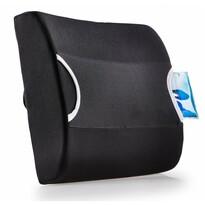 Bederní opěrka s termoobkladem, černá
