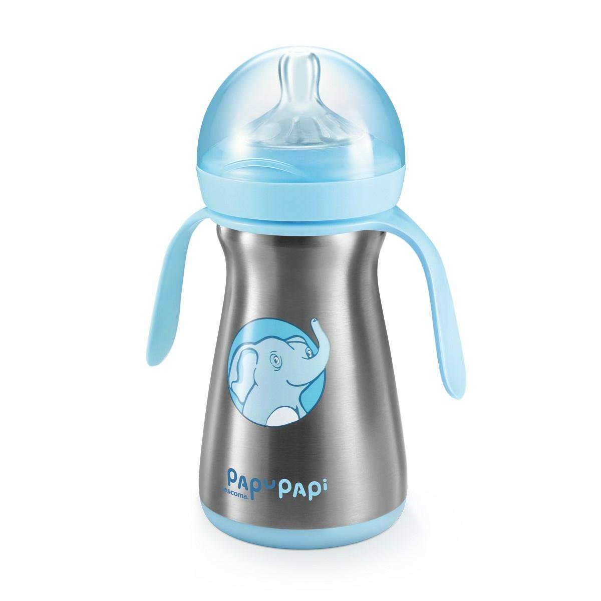 Tescoma Termo láhev PAPU PAPI 200 ml, modrá