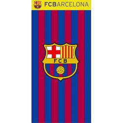 Osuška FC Barcelona stripe, 70 x 150 cm