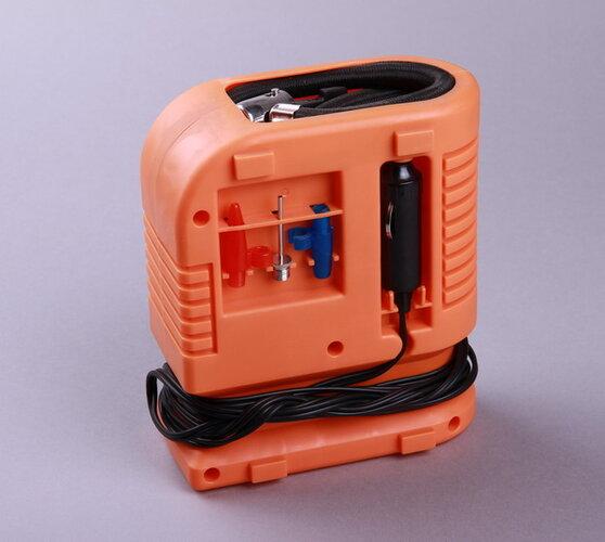 SHARKS SH 250 autokompresor, oranžová