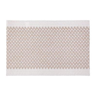 Elly alátét, fehér - bézs, 30 x 45 cm