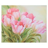 Obraz na plátne Romantic Roses, 56 × 46 × 2 cm