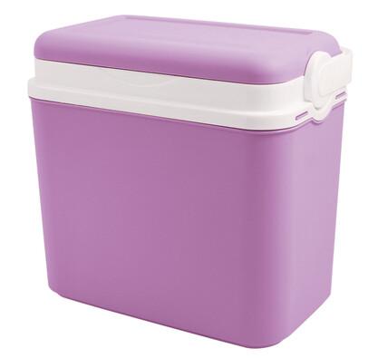 Chladicí box plast 10 l, fialová