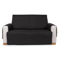 4Home Doubleface dupla fotelhuzat, fekete/szürke