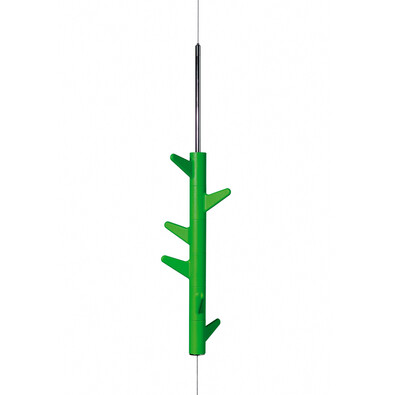Věšák závěsný Oka A 6 háčků, zelený