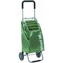 Gimi Nákupná taška na kolieskach Flexi zelená, 45 l