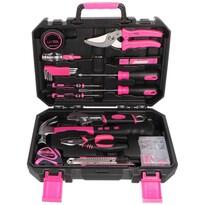 Sixtol Zestaw narzędzi Home Pink, 88 szt.