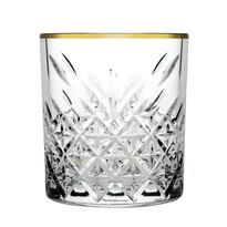 Mäser 4 db-os whiskys pohár készlet Timeless  Golden Touch, 345 ml
