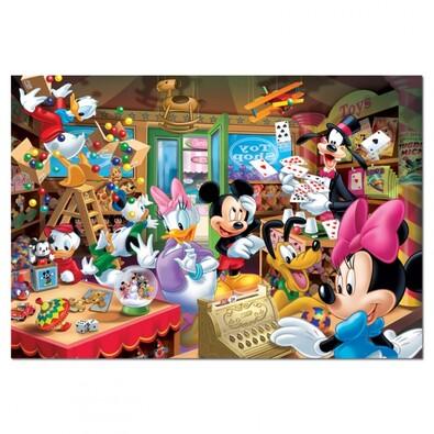 Puzzle Mickeyho obchod, 1000 dílků, vícebarevná