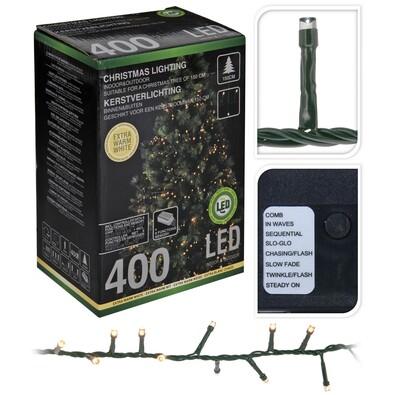 Vánoční světelný řetěz Cluster, 400 mini LED