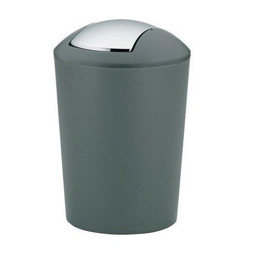 Kela Odpadkový koš MARTA 5 l, šedá