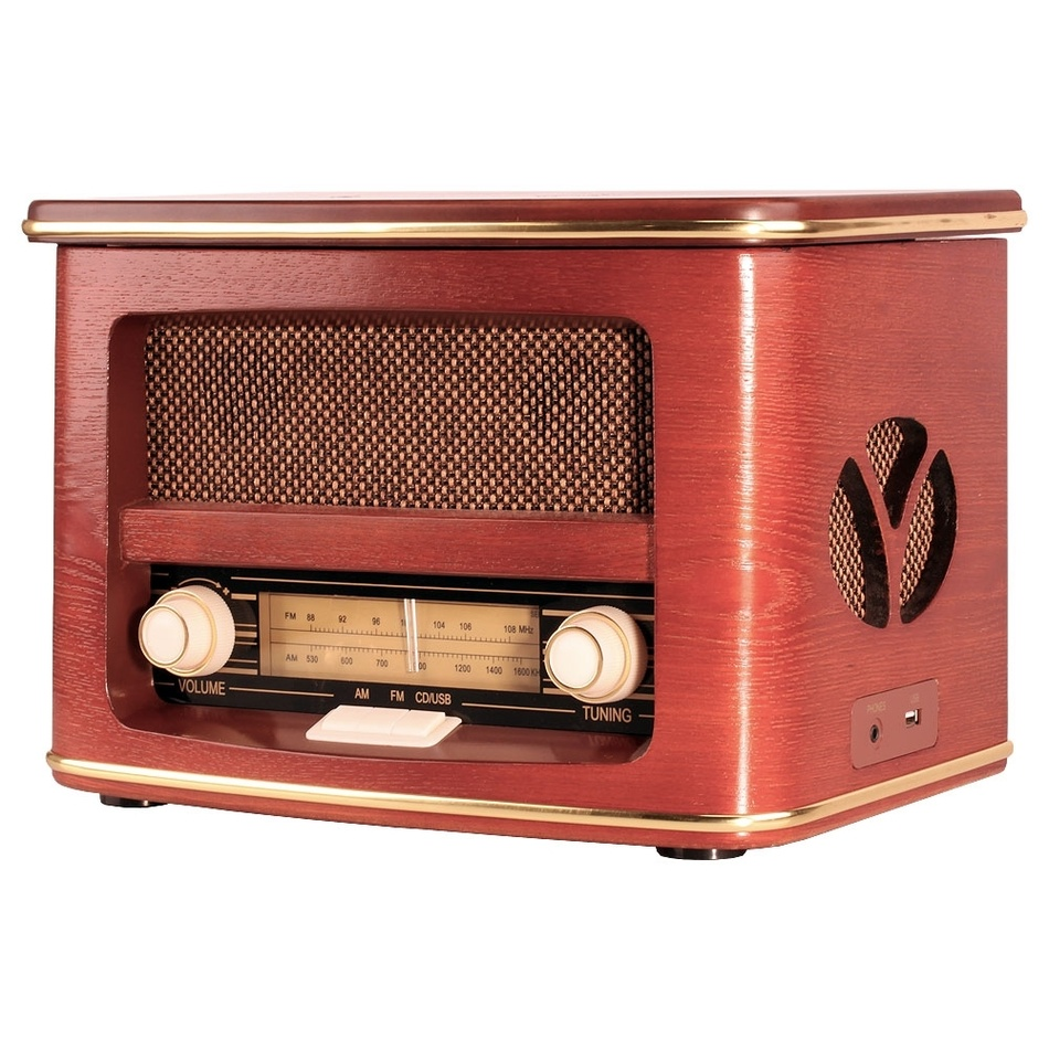 Orava RR-51 retro rádio s CD/MP3