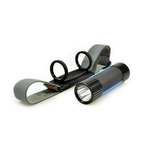 Solight WL105 Čelové a ručné LED svietidlo 2v1, čierna