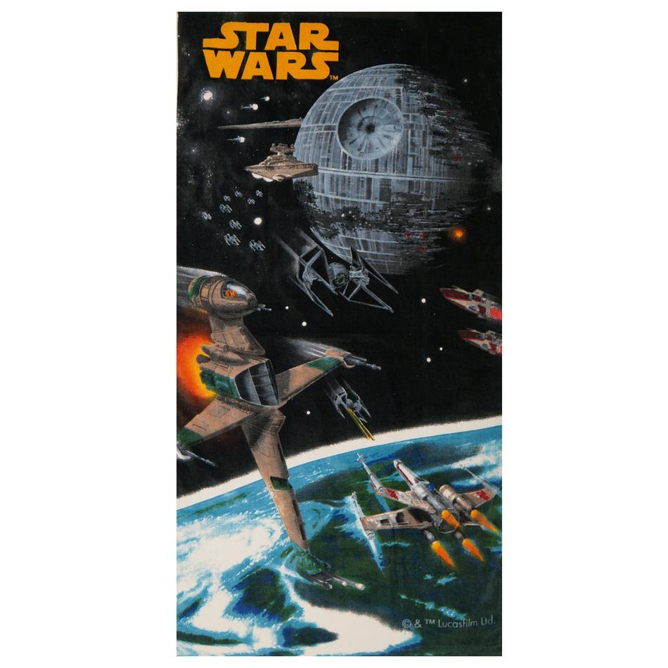 Jerry Fabrics Osuška Star Wars vesmírná loď, 75 x 150 cm