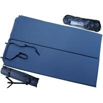 Saltea auto-gonflabilă pentru 2 persoane albastră, 186 x 110 x 2,5 cm