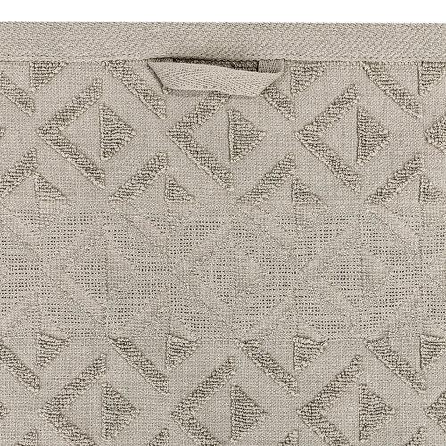 Sada Rio ručník a osuška šedá, 50 x 100 cm, 70 x 140 cm