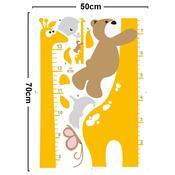 Samolepicí dekorace metr dětská žirafa