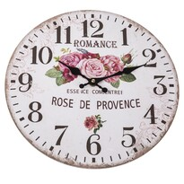 Zegar ścienny Rose, 34 cm
