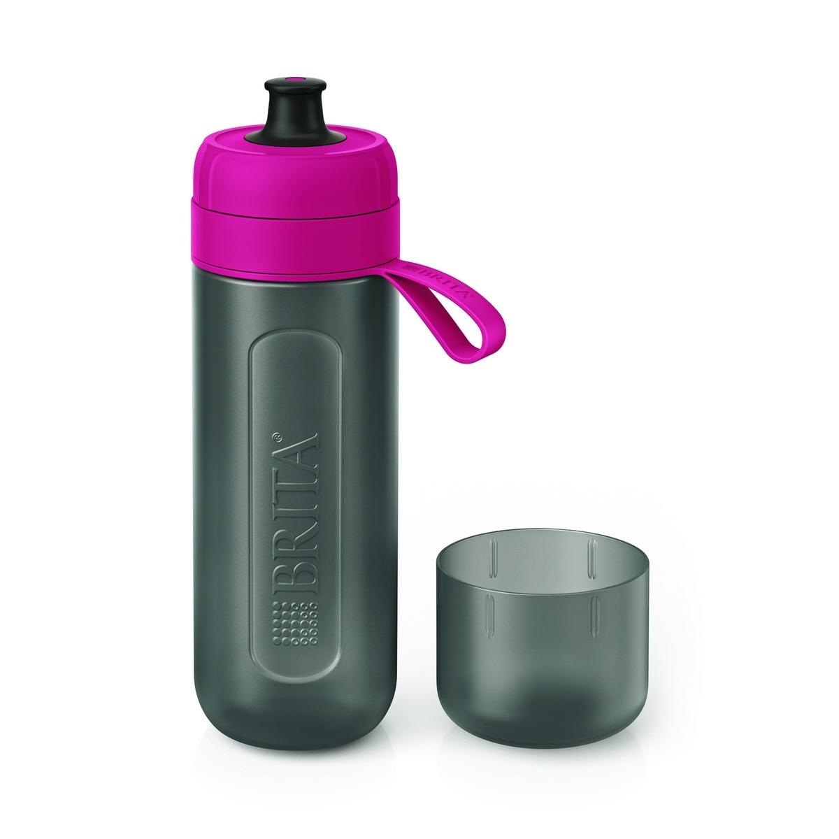 Brita Butelka filtrująca na wodę Fill  Go Active 0,6 l, różowy